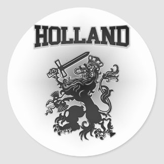 Holland Coat of Arms Classic Round Sticker