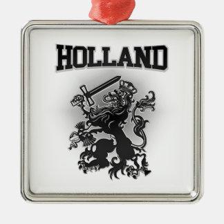 Holland Coat of Arms Metal Ornament