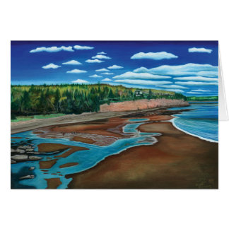 Holland Cove, Prince Edward Island- Watercolor Card