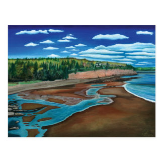 Holland Cove, Prince Edward Island- Watercolor Postcard