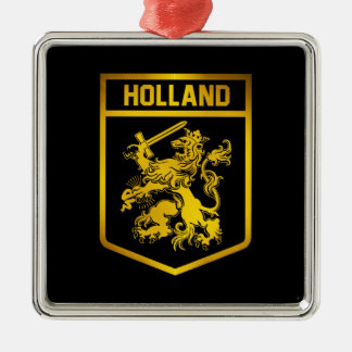 Holland Emblem Metal Ornament