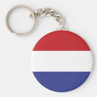 Holland flag keychain