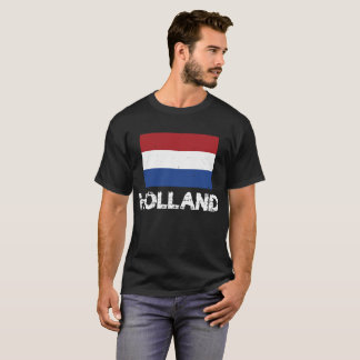 Holland Flag T-Shirt for Men and Women