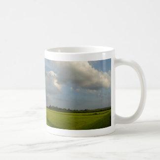 Holland Grass-land Panoramic Landscape Coffee Mug