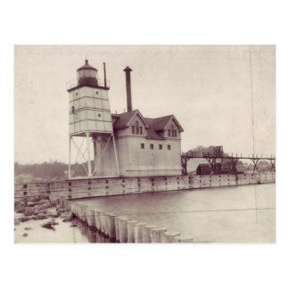 Holland Harbor Lighthouse 2 Postcard