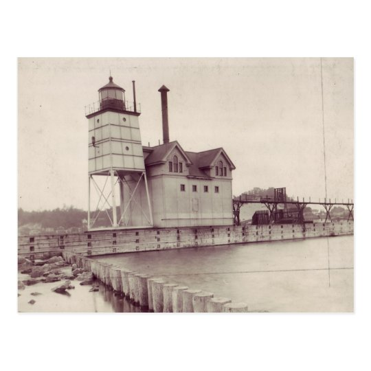 Holland Harbour Lighthouse 2 Postcard