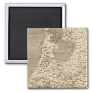 Holland Map by Arrowsmith Magnet