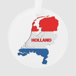 Holland map ornament