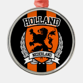 Holland Metal Ornament