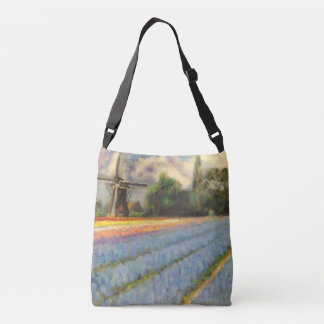 Holland Michigan Tulips Crossbody Bag