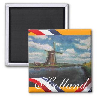 Holland Mill Fridge Magnet