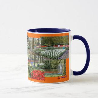 Holland Souvenir mug (Keukenhof Gardens/15 oz.)