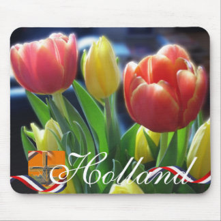 Holland Tulips Souvenir Mousepad