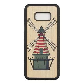 Holland Windmill Carved Samsung Galaxy S8+ Case
