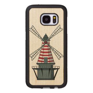 Holland Windmill Wood Samsung Galaxy S7 Case