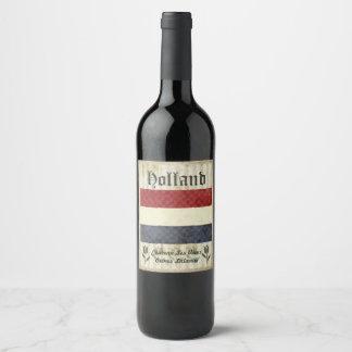 Holland Wine Label