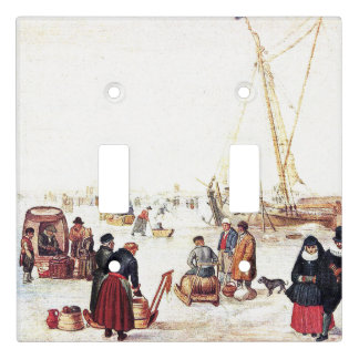 Holland Winter Fun on Ice Light Switch Cover