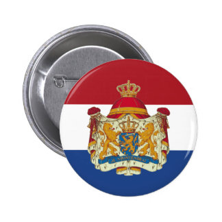 Holland with Arms Button
