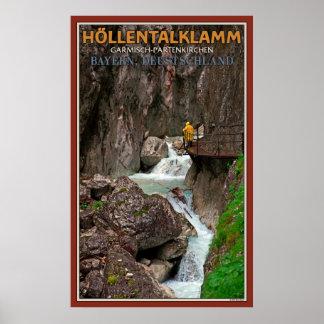 Höllentalklamm Poster