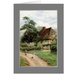 Hollingbourne,Kent. Card