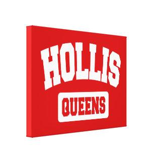 Hollis, Queens, NYC Gallery Wrap Canvas