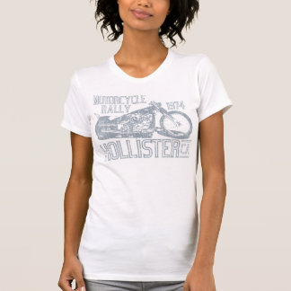 Hollister Motorcycle Rally (vintage slate) T-Shirt