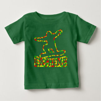 HOLLOW EXTREME SNOWBOARDER IN RGY CAMO BABY T-Shirt