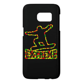 HOLLOW EXTREME SNOWBOARDER IN RGY CAMO SAMSUNG GALAXY S7 CASE