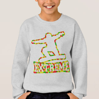 HOLLOW EXTREME SNOWBOARDER IN RGY CAMO SWEATSHIRT