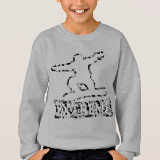 HOLLOW EXTREME SNOWBOARDER IN URBAN CAMO SWEATSHIRT