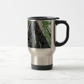 Hollow Redwood Mugs
