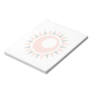 Hollow star notepad