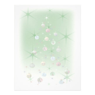 Hollow Tree Christmas Letterhead