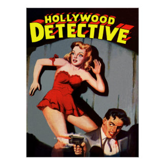 Hollwood Detective Poster