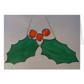 Holly and Berries Card