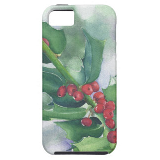 Holly and Berries Case For The iPhone 5