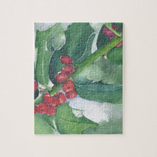 Holly and Berries Jigsaw Puzzle