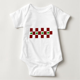 Holly and Checks Baby Bodysuit