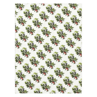 holly and ivy design Christmas Tablecloth