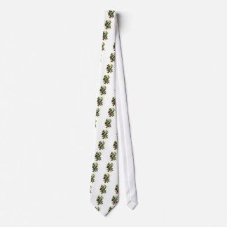 holly and ivy design Christmas Tie
