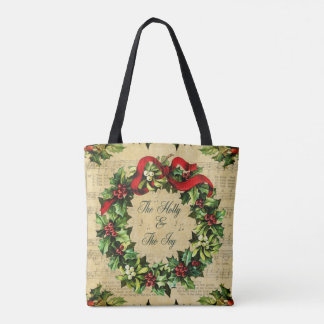 Holly and the Ivy Tote Bag