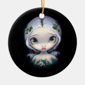 """Holly Angel"" Ornament"