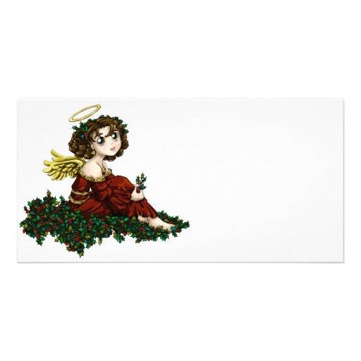 Holly Angel Customized Photo Card