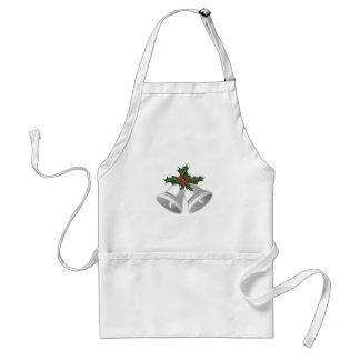 Holly Bells Standard Apron