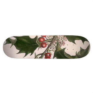 holly berries skate boards