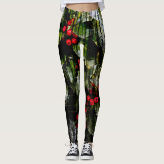 Holly Berry Leggings