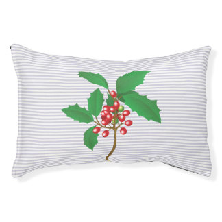 Holly Berry Pet Bed