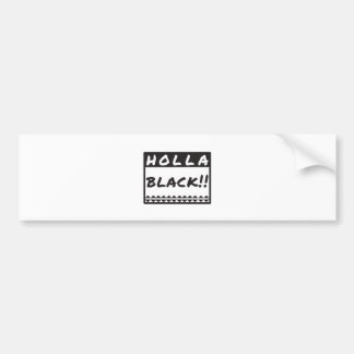 holly_black bumper sticker