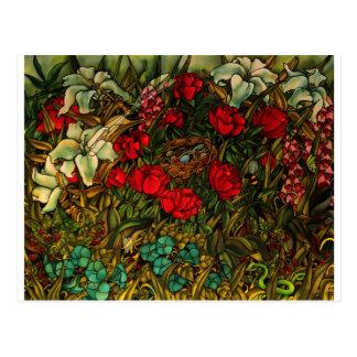 Holly Carr's art post card