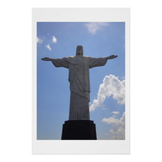 Holly Christ Corcovado in Rio Poster